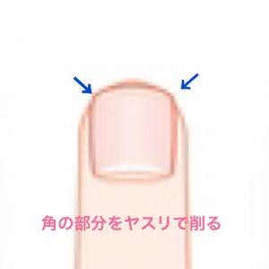 爪の切り方3