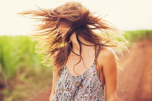 美髪 女性