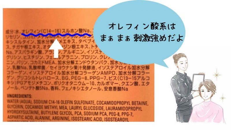 オレフィン酸系界面活性剤